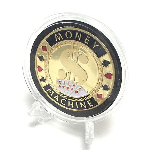 """Money Machine"" Poker Card Guard"
