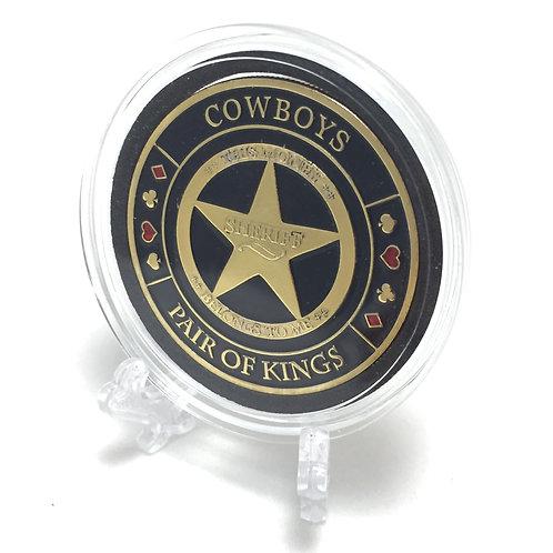 """Cowboys"" Poker Card Guard"