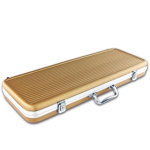 500 Gold ABS Poker Chip Case