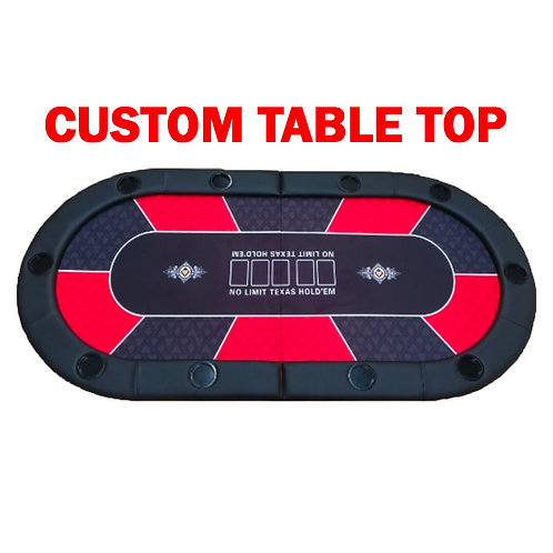 Customized Poker Table Top