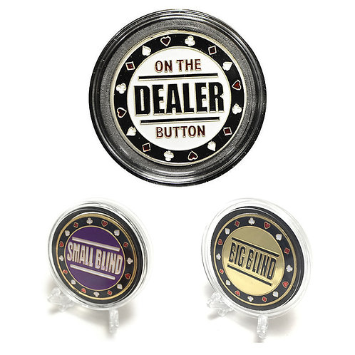 Dealer Set #2 Poker Card Guards