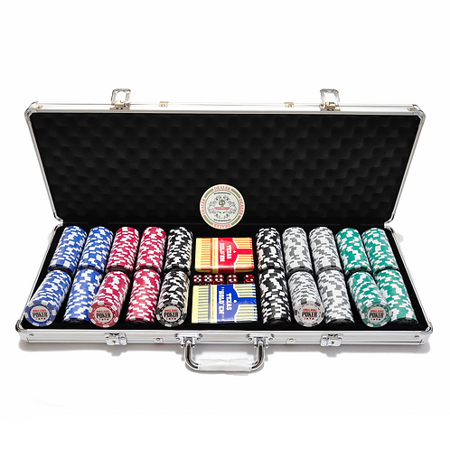 10g World Series of Poker 500s Poker Chip Set (Premium)