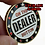 Thumbnail: Denominated Stripes and Dices 500s ABS Poker Chip Set (Plastic)