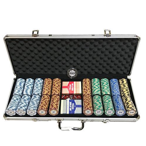 Monte Carlo Gold Edition 500s Poker Chip Set (Premium)