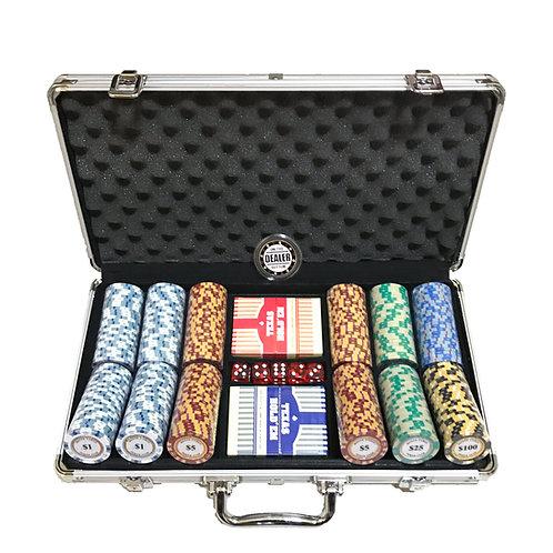 Monte Carlo Gold Edition 300s Poker Chip Set (Premium)