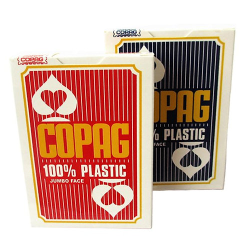 Copag Texas Hold'em Plastic Playing Cards