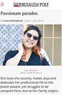 An Asian American Jewish woman living in Israel