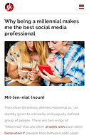 Why being a millenial makes me the best social media professional