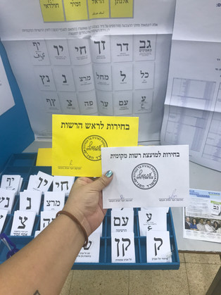 Who Do I Vote For? Your English Guide to the 2019 Israeli Elections