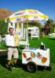Coachella Valley Cone Zone ice cream man