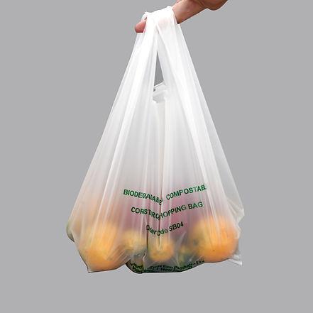 biodegradable bag; degradable bag, compostable bag