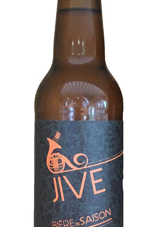 JIVE - Bière blonde de saison artisanale bio