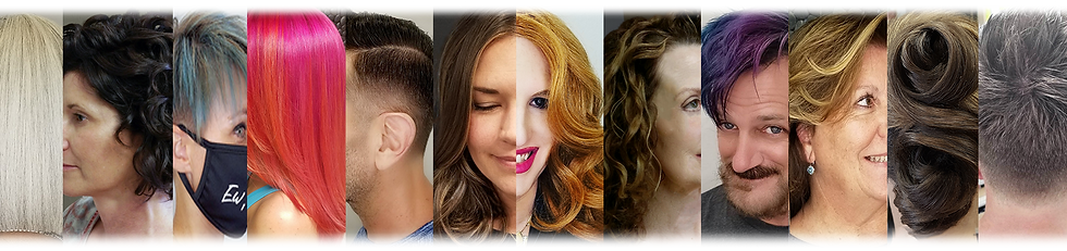 image strip of finished client looks