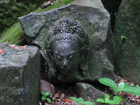 Apsara bei Ta Prohm Tempel
