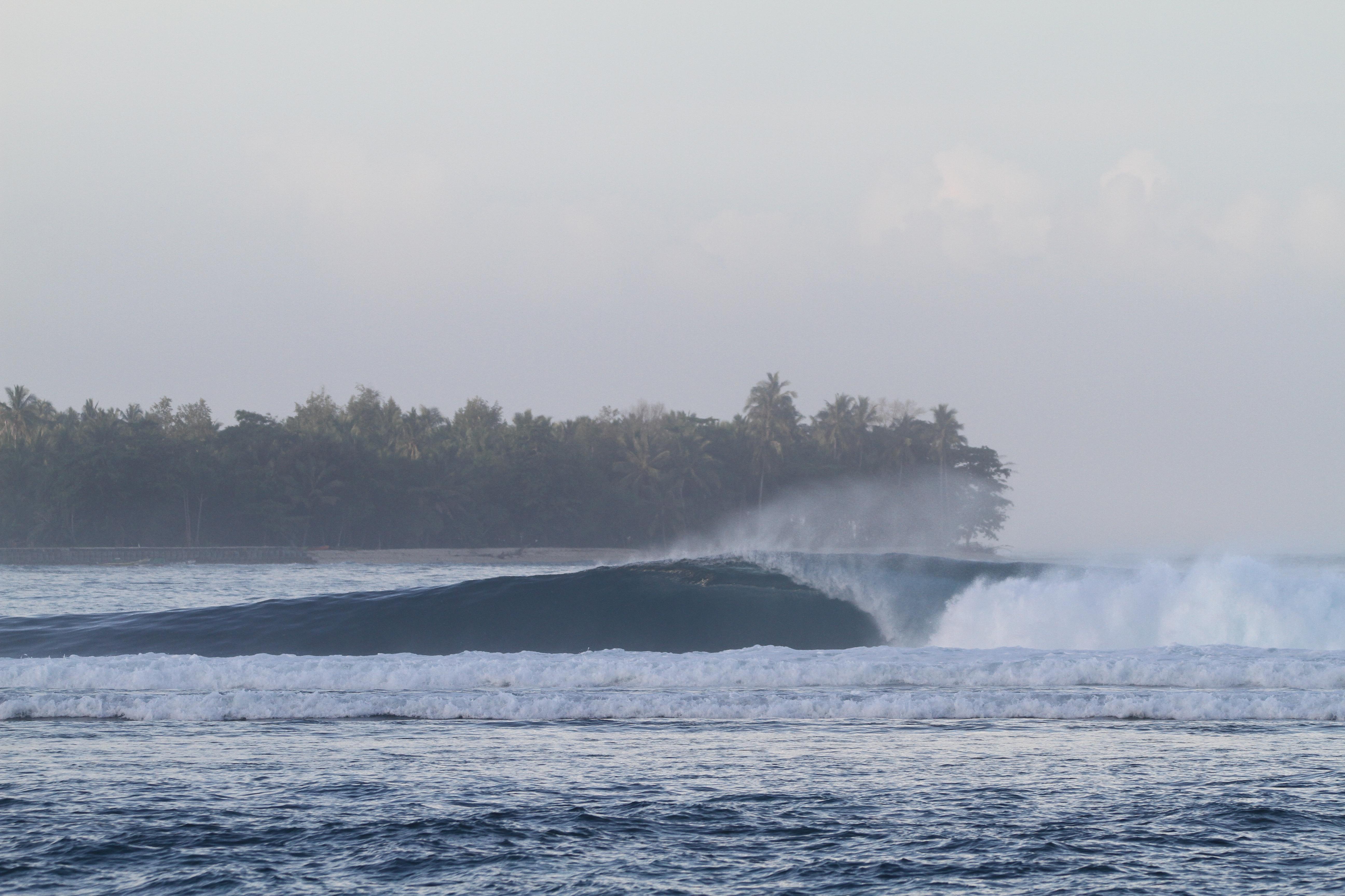 Jennys wave Sumatra