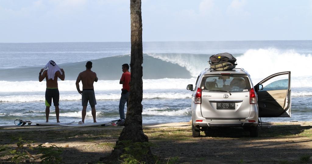 Krui Waves Sumatra