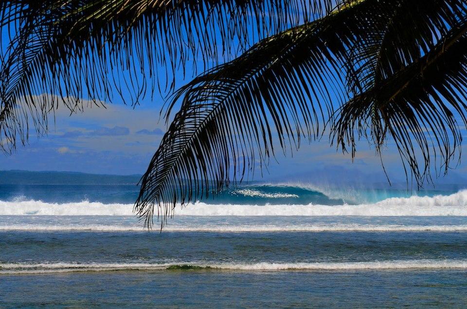 Banana Island wave