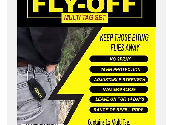 Fly-Off Multi Tag Set