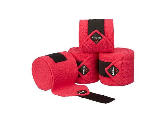 LeMieux Luxury Polo Bandages Fuchsia