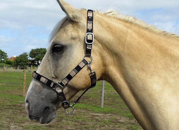 Neoprene Lined Check Headcollar