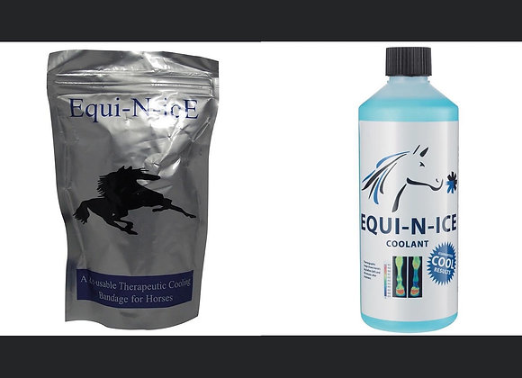 Equi-N-ice Bandage and Coolant