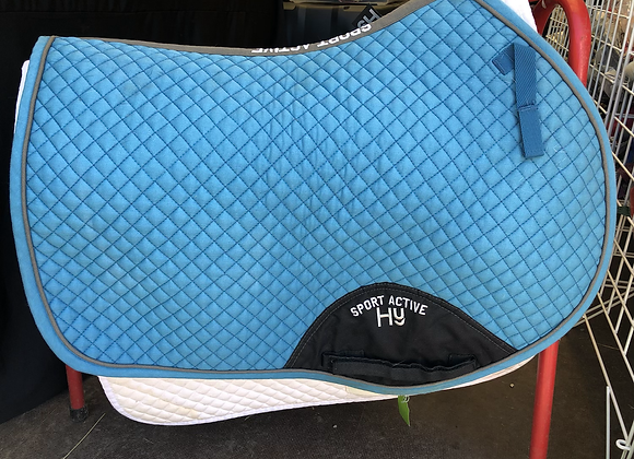 Hy Sport Active Close Contact Saddle Pad - Full/Cob
