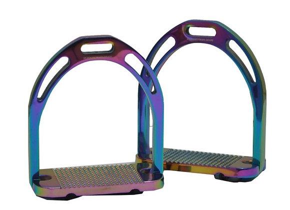 Aluminium Rainbow Jinn Stirrups