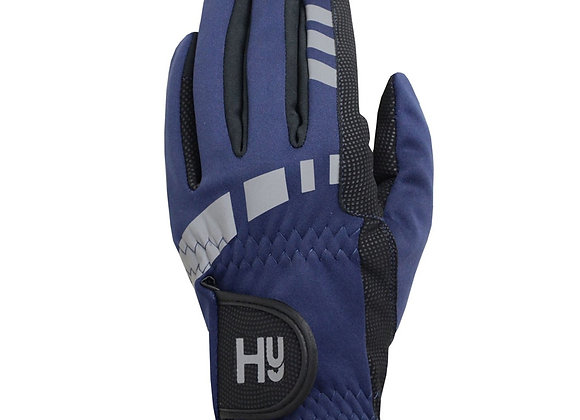 Hy Equestrian Extreme Reflective Softshell Gloves