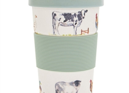 Country Life Bamboo Travel Mug