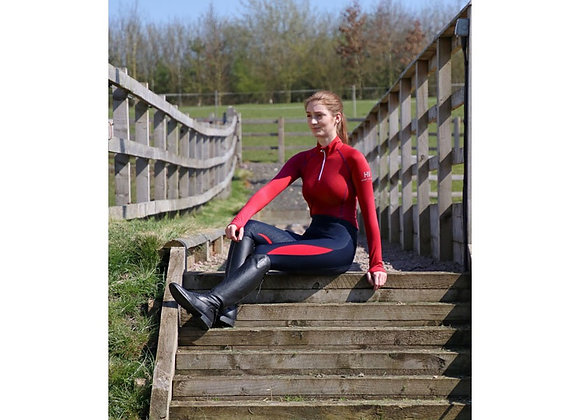 HyFASHION Sport Active + Base Layer - Rosette Red