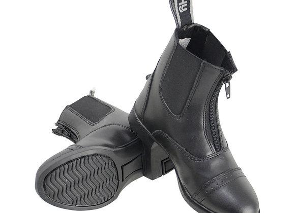 HyLAND York Synthetic Zip Jodhpur Boots