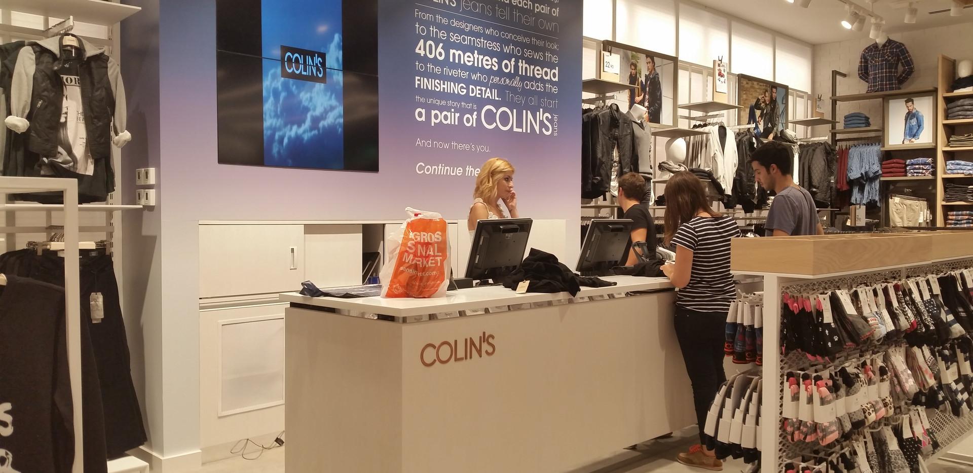 COLIN'S YENİ KONSEPT