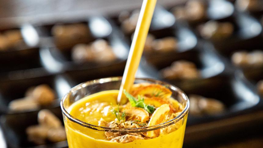 Spiced Pumpkin Lassi Cocktail