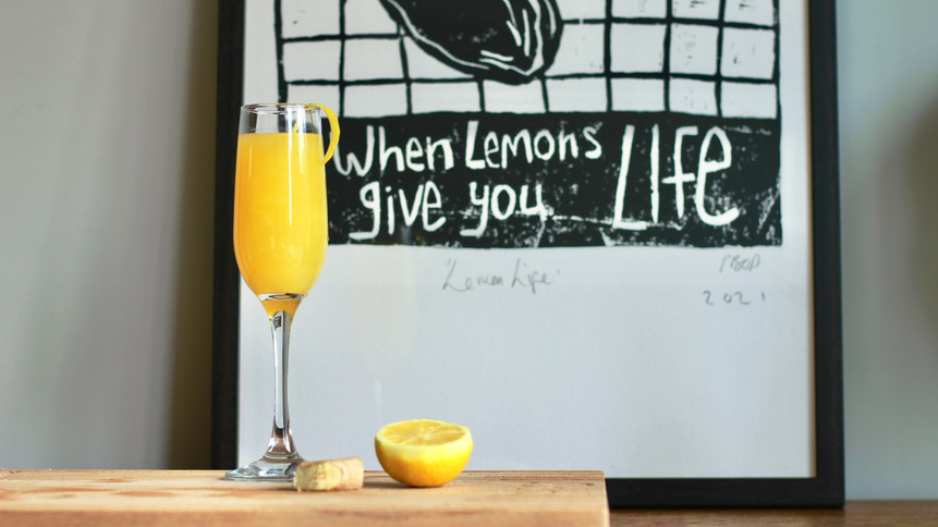 The Lemon Press Cocktail