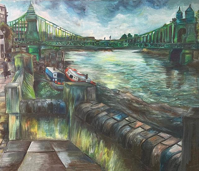 View from Hammersmith Bridge