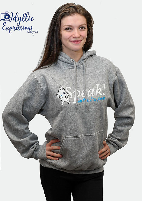 Speak Hooded Sweatshirt