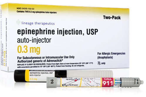 Epinephrine Auto Injector 2-Pack