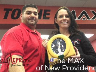Take It To The MAX! Fitness & safety are top priority in New Providence!