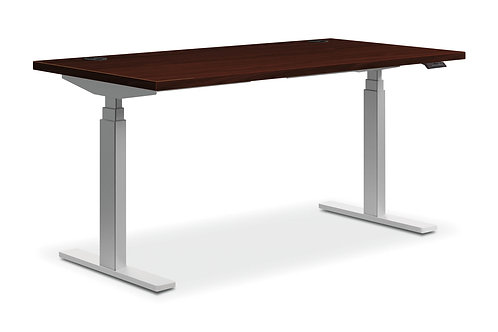 "60""W X 24""D, SIT-TO-STAND TABLE, 3-STAGE"
