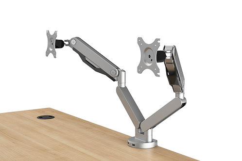 DUAL MONITOR ARMS W/2 USB