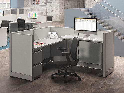 (1) INDIVIDUAL WORKSTATION W/HEIGHT ADJUSTABLE