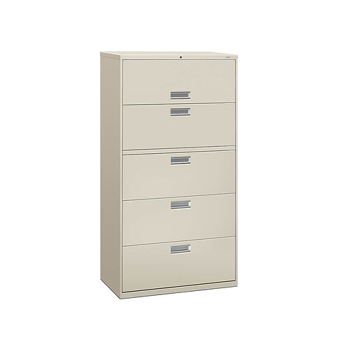 "BRIGADE 5-DRAWER LATERAL FILE, 36""W"