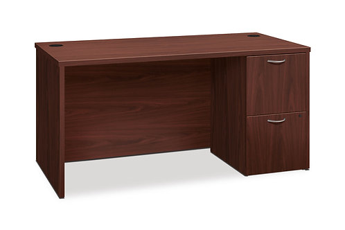 "FOUNDATION, 60""W SINGLE PEDESTAL DESK"