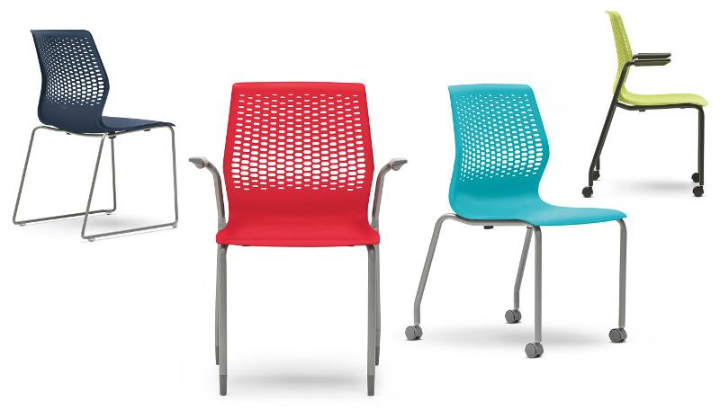 Side Chair-Allsteel Lyric