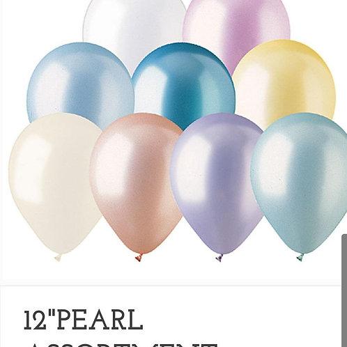 "11"" Pearl Latex Ballon (you choose a color)"