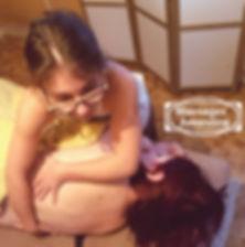 Amandine Bedouet Massage Femme enceinte t position latérale