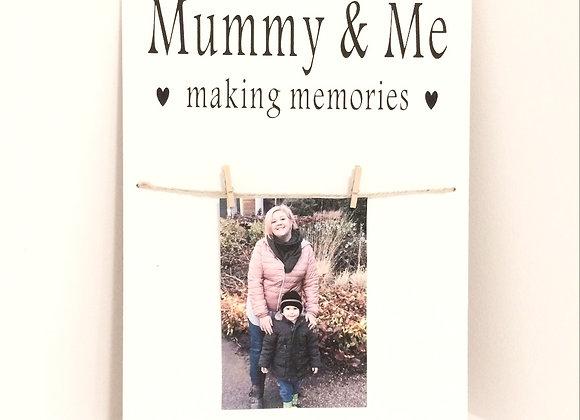 Mummy & Me Photo Frame