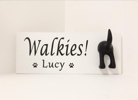 Walkies Dog Sign