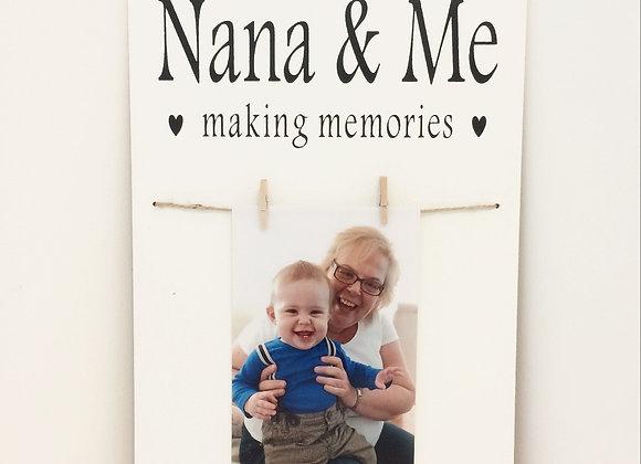 Nana & Me Photo Frame