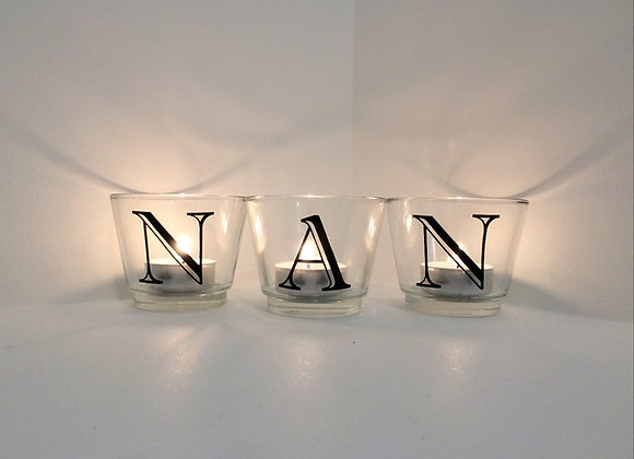 In Memory of... Votive Candles (Individual)